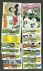 1975 TOPPS FOOTBALL LOT OF 300+ COMMONS AND MINOR STARS NRMT