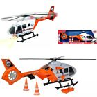 Helicopter Dickie Toys Light Sound SOS Rescue Moving Blades Large Toy New