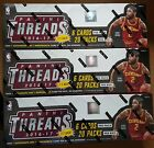 3 x Panini Threads Basketball Hobby Box 2016-17 2 Hits