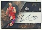 Blake Griffin 2016-17 Panini Select In Flight on-card Autograph Auto #'d 13 99