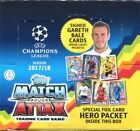 2017 2018 Topps UEFA Champions League Match Attax Soccer Cards Box. 30 Packs.