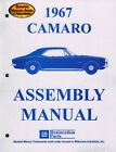 1967 67 Camaro Factory Assembly Manual Z28 SS RS - 418 Pages!!