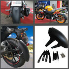 Motorcycle PVC Rear Wheel Cover Fender Splash Guard Mudguard with Bracket
