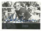 2011 UD College Legends #13 BOB GRIESE Auto Purdue Boilermakers Miami Dolphins