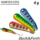 Smith Back&Forth 4 g Trout Spoon Assorted Colors