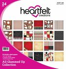 Heartfelt Creations All Glammed up 12 Designs 2 Each Double Sided Paper