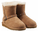 NWOB Kirkland Signature Kids Shearling Boots with Studded Buckle
