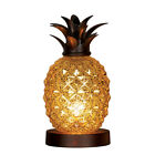 Mercury Glass Tabletop Pineapple Lamp by Collections Etc