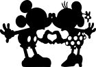 Minnie  Mickey Mouse Vinyl Stickers Wall Laptop Glass Decal Room Romantic