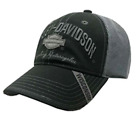 Black Harley Davidson Bar  Shield Mesh Ball Cap Hat HD New Free Shipping USA