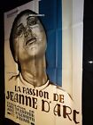 LA PASSION DE JEANNE DARC JOAN OF ARC French 47x63 Carl Th Dreyer Falconetti