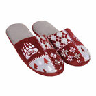 Montana Grizzlies Ugly Sweater Slippers College