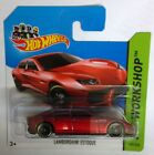 Hot Wheels HW WORKSHOP Lamborghini Estoque in Red Mattel Free Delivery