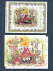 Suzy Zoo Note Card  Stickers Suzys Garden Corner