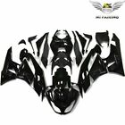 Injection Fairing Glossy Black Fit for Kawasaki ZX6R 636 2009-2012 ABS Body e03