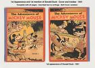 ADVENTURES OF MICKEY MOUSE 1st DONALD DUCK 1931 SOFT COVER VARIANT RARE