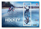 2017 History of Hockey Souvenir Sheet 2 stamps
