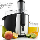 VonShef Professional Powerful Wide Mouth Whole Fruit Juicer Machine 700W Max...