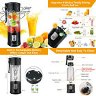 Portable Juicer Blender, Beckool Travel Personal USB Mixer Juice Cup with...