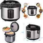 Rosewill 12-Cup Cooked 6-Cup Uncooked Digital Rice Cooker and Food Steamer...