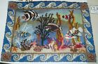 CORAL REEF Rug Latch Hook Reef Ocean Sea Fish Fishes CLAIRE MURRAY $149.99 MSRP