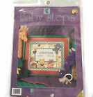 Birth Announcement Cross Stitch Kit Baby Steps Animals Designs for the Needle
