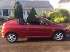 LARGER PHOTOS: peugeot 206 convertible