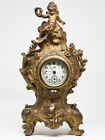 1800s Jennings Brothers Antique Clock Beautiful Shape In Working Condition