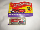 Hot Wheels The Heavyweights Fire Truck never removed from card Unused