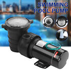 15HP Portable Swimming Pool Water Pump Electric Pressure Water Filter 110 120V