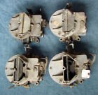 LOT OF FOUR 123 2100 CARBURETOR CARB 2 BARREL TRUCK MERCURY MANUAL CHOKE