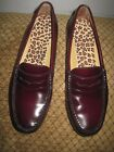 Bass Weejuns Diane Penny Loafer Cordovan Burgundy Ladies Shoes 8 M