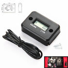 Waterproof LCD Digital Hour Meter for Marine Boat Engine - Rectangle