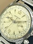 Vintage Rare Pre Heuer Leonidas Swiss Mens Watch Works Used Condition For Repair
