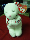 TY Beanie American Blessing Bear Retired @ MWMTS With Tag protector