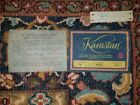 Karastan 100 Wool Ispahan Rug 6 by 9 BARELY USED Woven in the USA