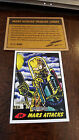 2014 TOPPS IDW LIMITED MARS ATTACKS REPRINT SKETCH CARD TED DATSICK JR. # 34