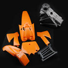 Orange Fairing Plastic Fender Body For KTM50 Mini Senior Adventure Junior Bike