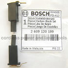Bosch Carbon Brushes GSS 140 A 110V Sander Genuine Original Part 2 609 120 199