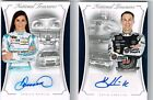 2016 NATIONAL TREASURES DANICA PATRICK KEVIN HARVICK BOOKLET AUTO CARD 10