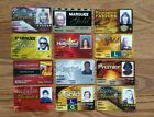 Hollywood Casino Elite Picture Slot Cards Premier Gold Producer Lot of 12