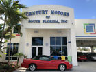 1998 Chevrolet Camaro Base Convertible 2 Door Red Convertible Leather Low Miles Clean CarFax