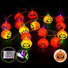 Pumpkin String Light27m LED Decoration Lights For Outdoor Home Patio US