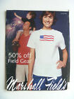 RARE Marshall Fields Sales Flyer Ad 2003 Hard To Find VTG