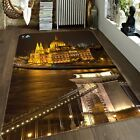 3D Castle View 504 Non Slip Rug Mat Room Mat Quality Elegant Photo Carpet US