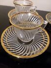 4 Demitasse Cups and Saucers
