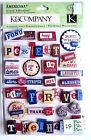 Americana Words Stars Stripes Forever Laughter Home Brave KCompany 3D Stickers
