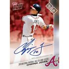 CHIPPER JONES TOPPS NOW 2018 HALL OF FAME AUTO 10 BRAVES AUTOGRAPH SIGNED CARD