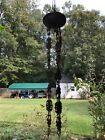 Antique Hanging Oil Lamp Library Parlor Chandelier Chain Canopy Holder Parts