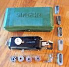 Singer Featherweight Buttonhole Attachment 160506, Templates, Box Vintage 84